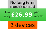 Three devices - For only £26.99 per month